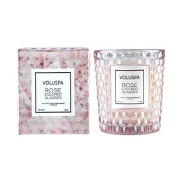 Vela Rose Colored Glasses Copo Voluspa