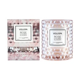 Vela Rose Colored Copo Redoma Voluspa