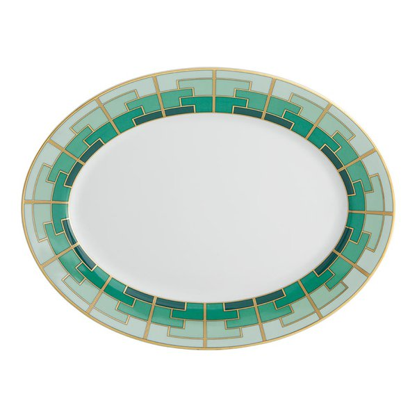 Travessa Emerald Oval M Vista Alegre