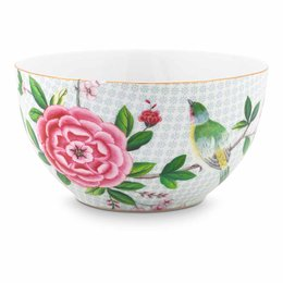 BOWL 15CM BCO BLUSHING BIRDS