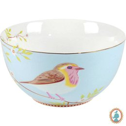 Bowl M Azul Bird Pip Studio