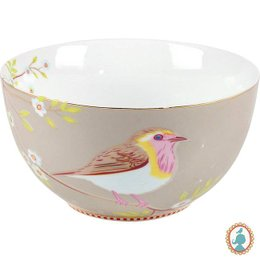 Bowl M Caqui Bird Pip Studio