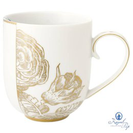 Caneca G  Flowers Royal White Pip Studio