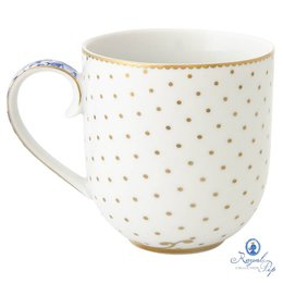 Caneca Flowers Royal White P Pip Studio