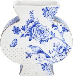 Vaso Flat Flowers Royal White Pip Stdio