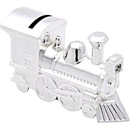 Cofre Locomotiva em Silver Plated