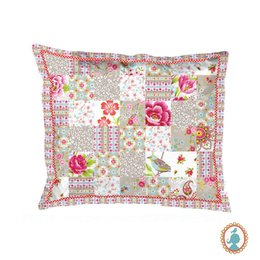Capa Travesseiro Patch Caqui Chinese Blossom Pip Studio