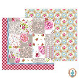 Colcha Casal Patch Caqui Chinese Blossom Pip Studio