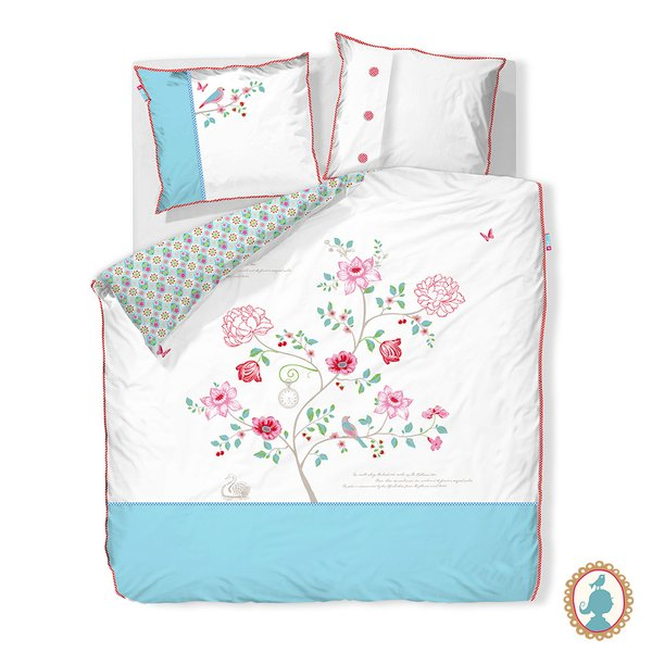 Duvet Casal Embroider Tree Pip Studio