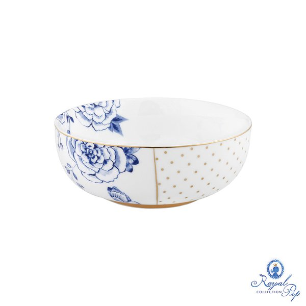 Bowl Flowers Royal White Pip Studio