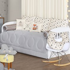 Kit Cama Babá Little Indian - 9 Pçs