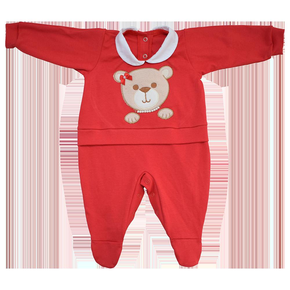 Macacão para Bebê   Cheirinho de Neném 2dded086d9