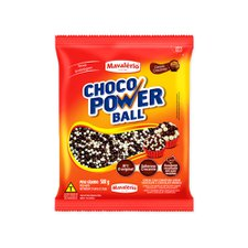 Cereal Power Ball Micro Ao Leite e Branco 500g - Mavalério Un
