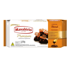 Chocolate Em Barra Premium Blend Mavalerio 1,01kg