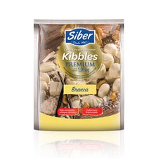 chocolate kibbles branco siber 1,01kg
