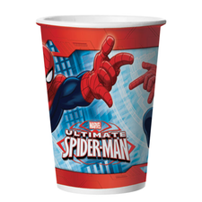 Copo De Papel 330ml Ultimate Spider Man Regina 8un