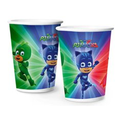 Copo De Papel 180ml Pj Masks Regina 8un