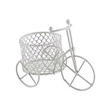 Bicicleta Metal Branco Mini Art Lille 12un
