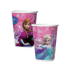 Copo De Papel 180ml Frozen - Regina 8Un
