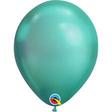 "Balão 11"" Redondo Chrome Green Qualatex Un"