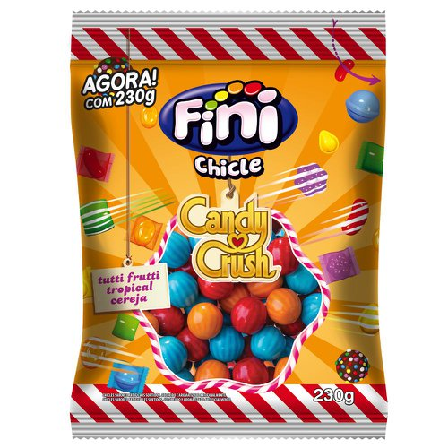 Chicle Candy Crush Fini 230g - Fini unidade