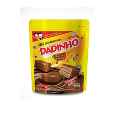 Mini Bombom Wafer Dadinho 100g