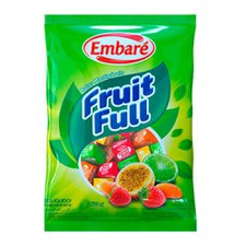 Bala Fruit Full 660g - Embaré Unidade