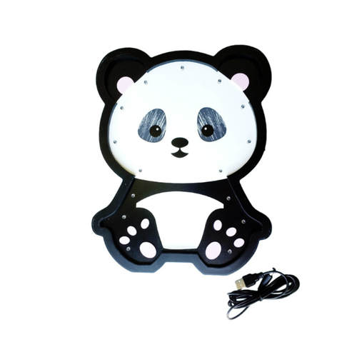 Enfeite De Led 30cm Panda Global Un