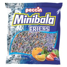Mini Bala Friexs Peccin 540g