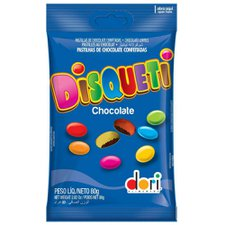 Chocolate Disqueti Dori 80g