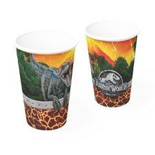 Copo Papel 200ml Jurassic World 2 Festcolor 8un