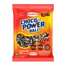 Cereal Power Micro Ball Leite Branco Mavalério 80g