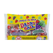 Chicle Danny Ball Sortido 300g 100un