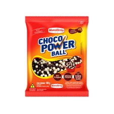 Cereal Power Mini Ball Ao Leite E Chocolate Branco Mavalério 500g