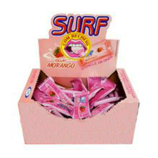 Chicle Danny Surf Morango 50un
