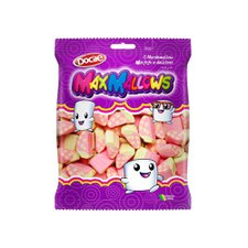 Marshmallow Maxmallows Morango Docile 250g