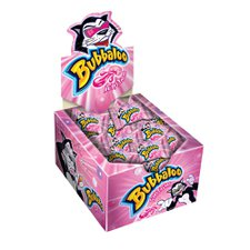 Chicle Bubbaloo Tutti Frutti Adams 60un