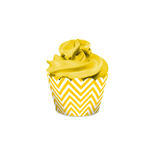 Cupcake Wrapper Festa Colors Amarelo Regina 16UN