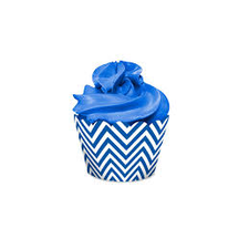 Cupcake Wrapper Festa Colors Azul Royal Regina 16UN
