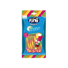 Goma Tubes Twister Cítrico Fini 240g