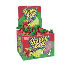 Chicle Happy Bol Melancia Boavistense 140g