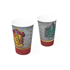 Copo Papel 300ml Harry Potter 8UN