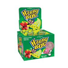 Chicle Happy Bol Hortelã Florestal 140g 46un