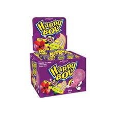 Chicle Happy Bol Uva Boavistense 140g