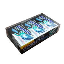 Chicle Pure Fresh Strong Mint - Mentos 15Un