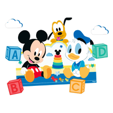 Kit Decorativo Mickey Baby Disney -Regina Un