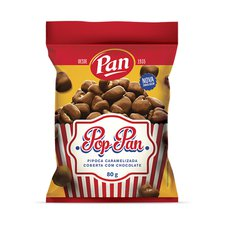 Pipoca com Chocolate Pop Pan 80g