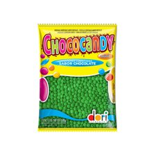 Chocolate Chococandy Mini Verde 350g - Dori Unidade