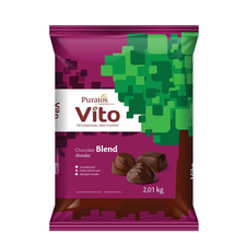 Chocolate Moedas Vito Blend Puratos 2,01kg