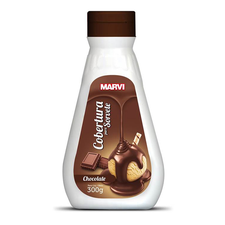 Cobertura de Sorvete Chocolate 300g - Marvi Un